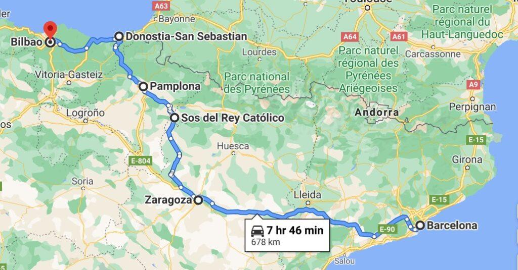Spain Historic Road Trip