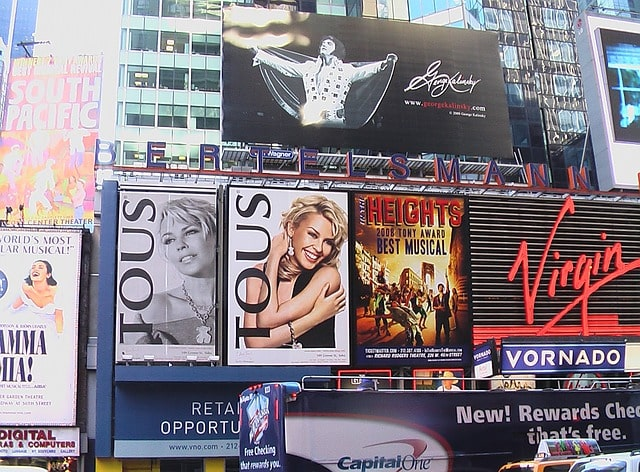 Broadway Theater District NYC