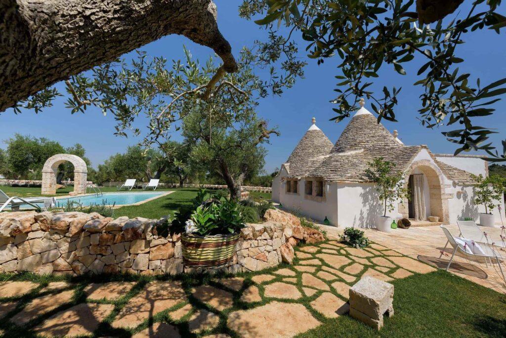 Trulli holiday home in Puglia Italy
