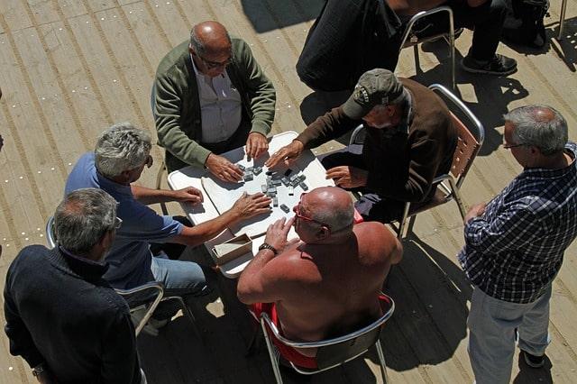 Cuba Domino Players
