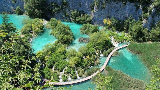 Pkutvuce Lake Croatia
