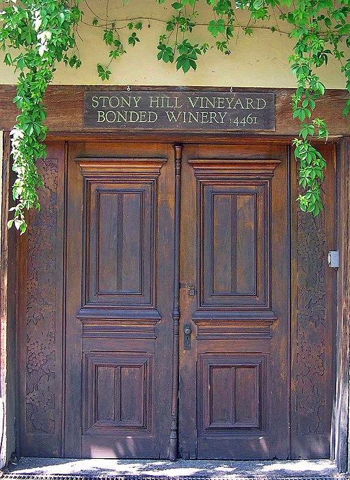 Stony Hill Vineyard Napa