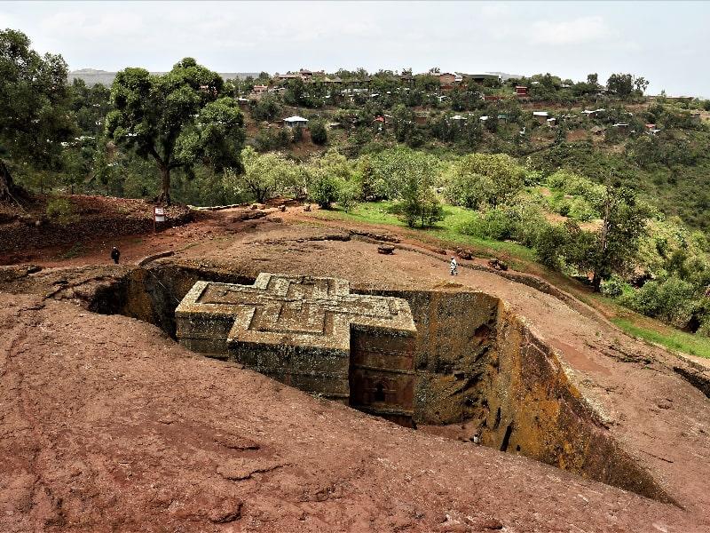 Rock Hewn Church Ethiopia
