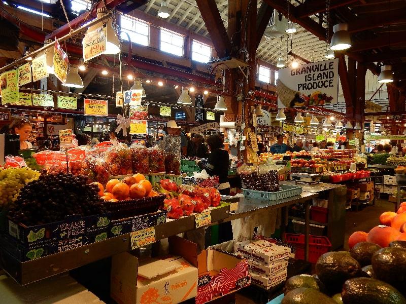 Granville Market Vancouver