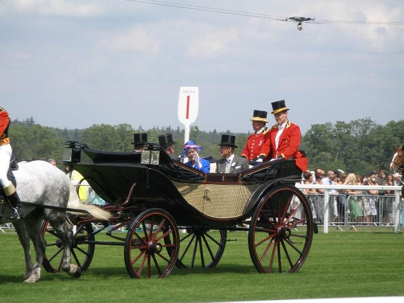 Royals at Royal Ascot Horse Race