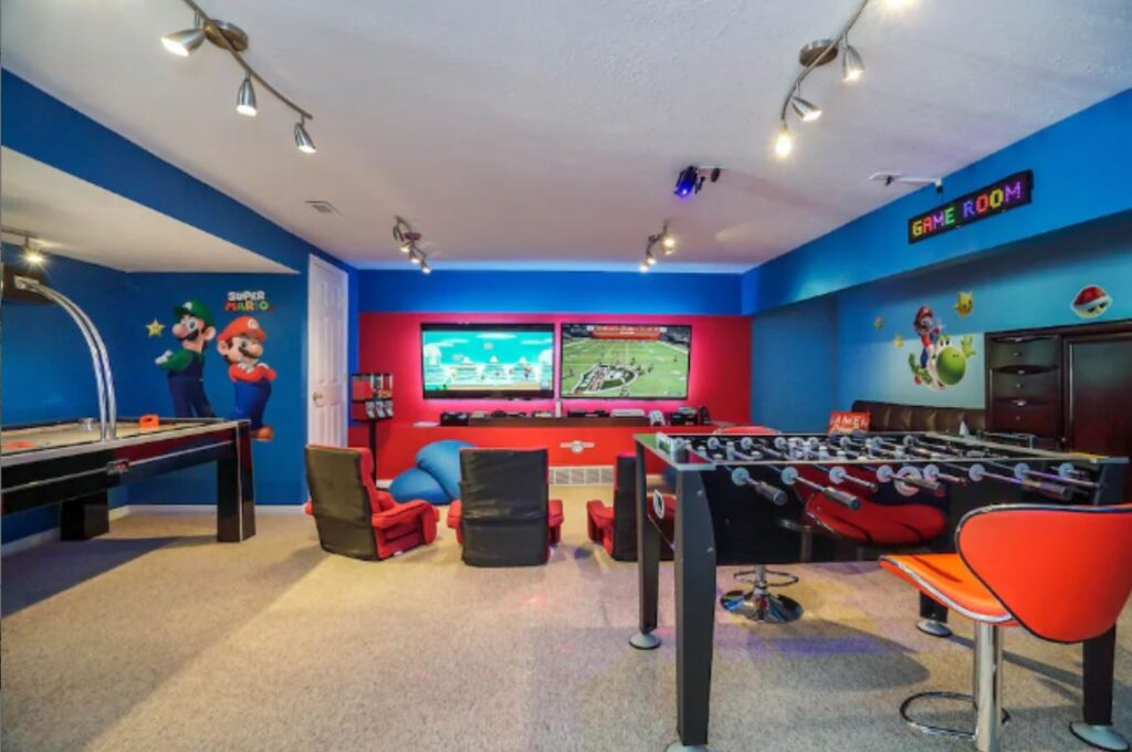 Game Room Airbnb