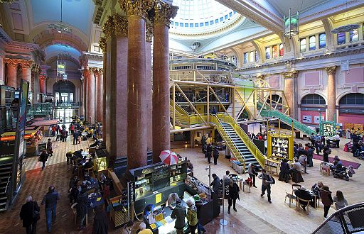 Royal Exchange Theatre Manchester England