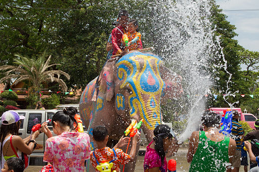 Thai New Year - Songkran Celebrations