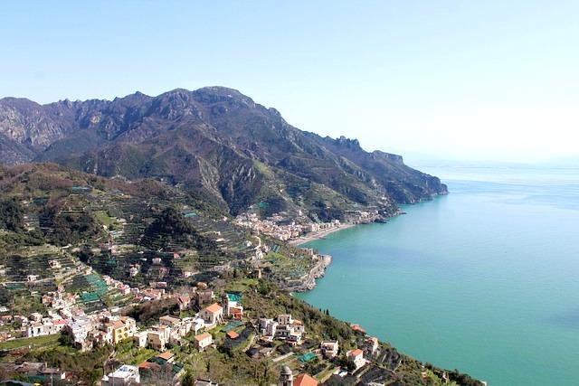 Amalfi Coast Vineyards Campagne Italy