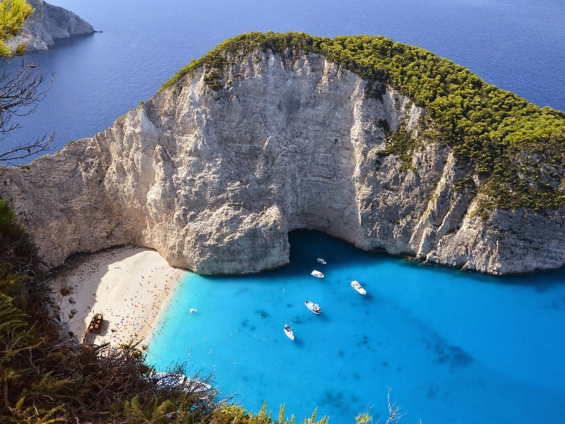 Greece Ionian Beach