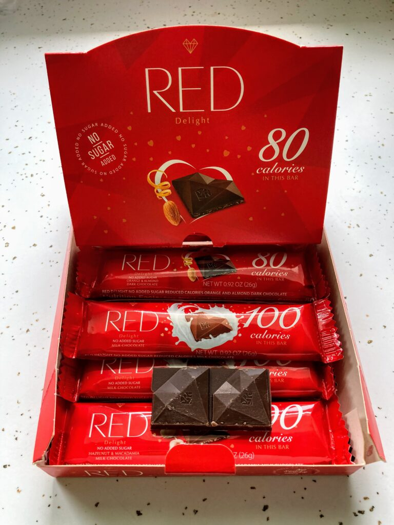 Red Delight Chocolate Bars