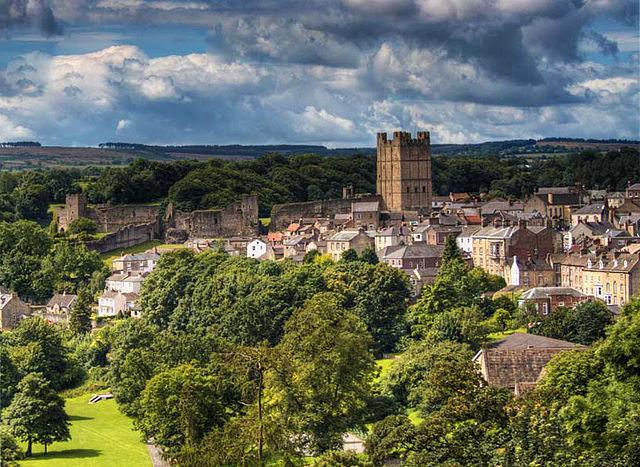 Richmond Castle Yorkshire UK