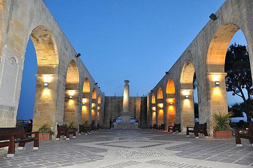 Barrakka Gardens Malta