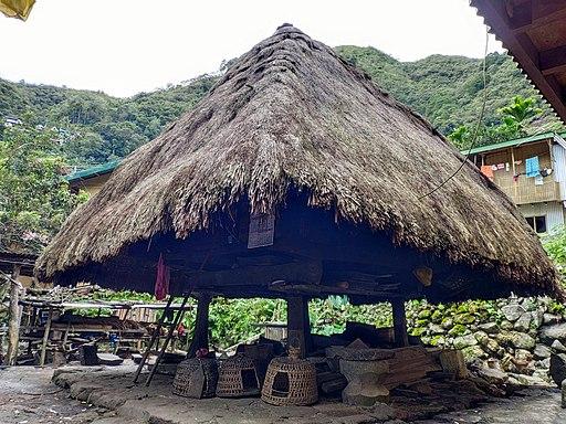 Traditional Batad Hut Philippines