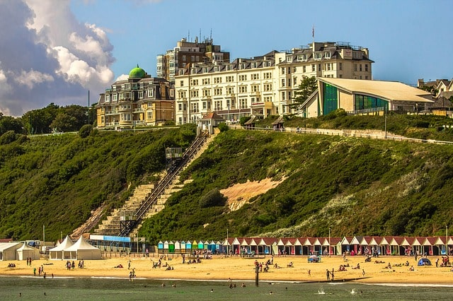 Bournemouth Beach England