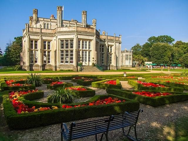 Highcliffe Castle Dorset England