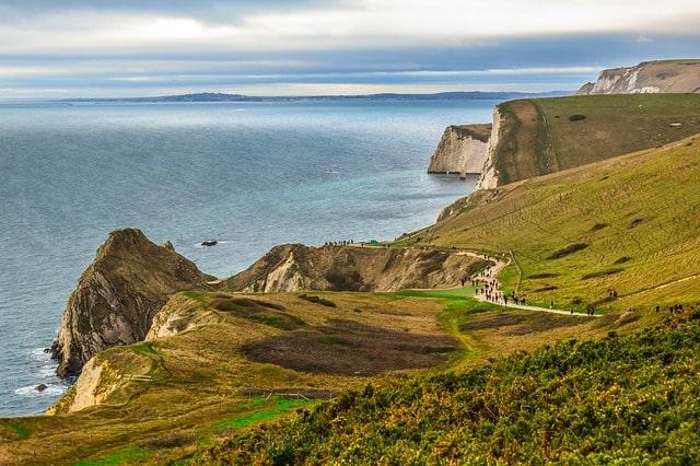 Golden Cap Walk Dorset England