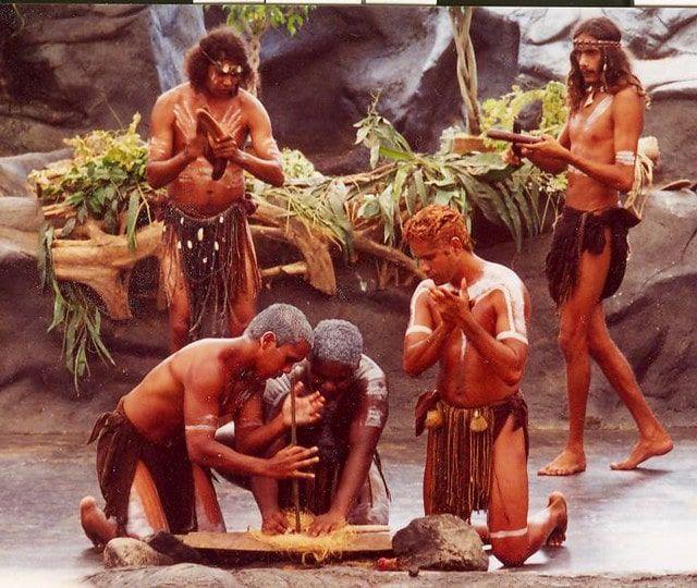 Aboriginal Theater Daintree Rainforest
