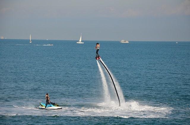 flyboarding in Dubai