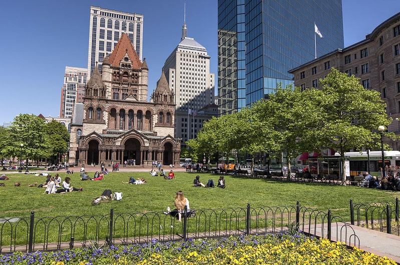 Trinity Church Copley Square Boston