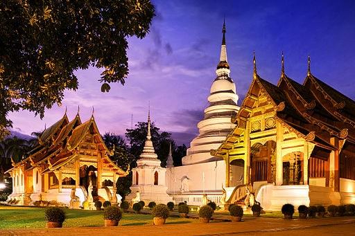 Phra Singh Temple Chiang Mai Thailand
