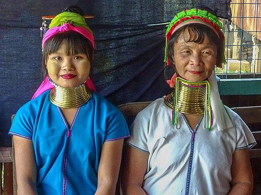 Padaung Long Neck Women Northern Thailand