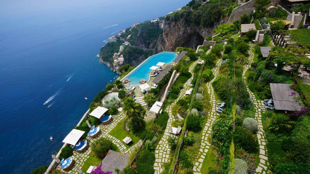 Monastero Santa Rosa Hotel Italy