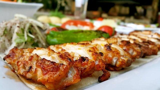 Dining in Turkey