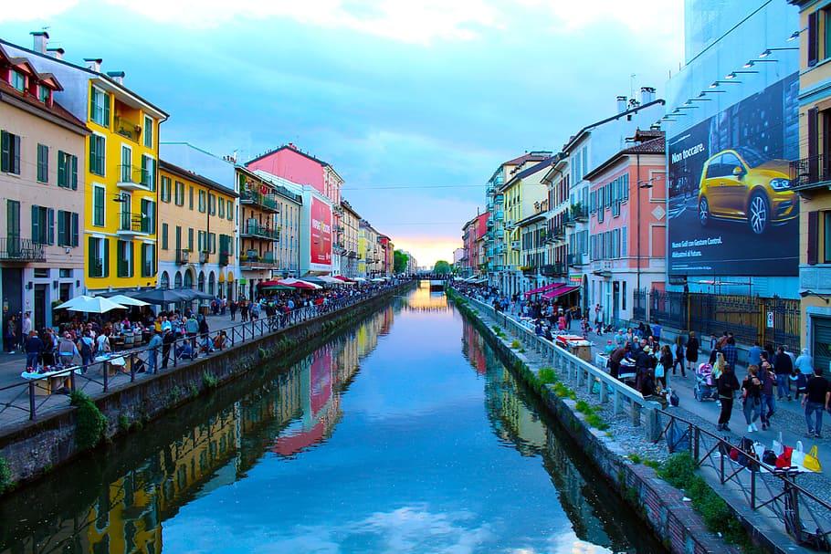 Milan Grand Canal