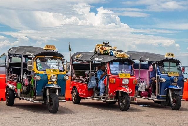 Tuk Tuk Taxi Thailand