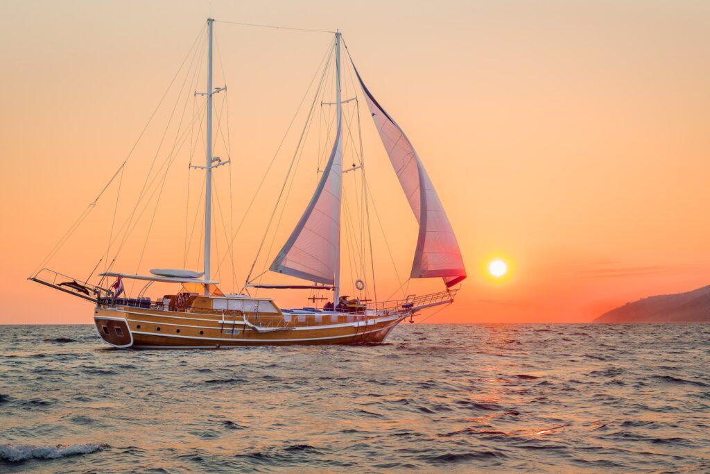 Sailing Sunset Croatia