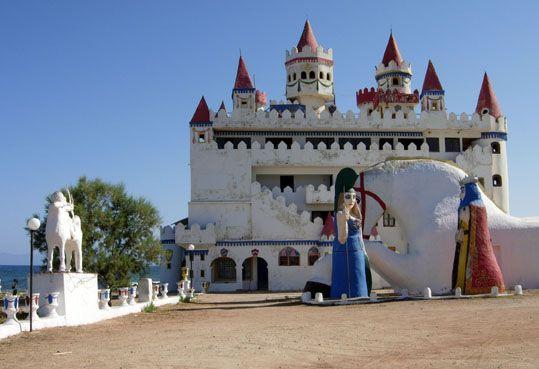 Greece Fairytale Castle