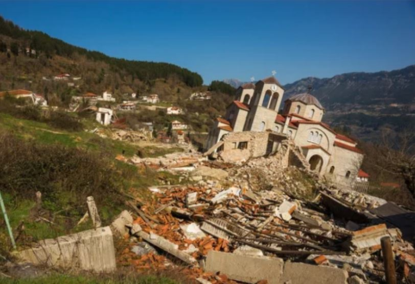 Ghost Town in Greece