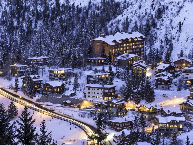 Courchevel Ski Resort France