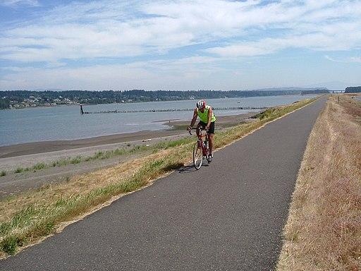 Portland Oregon Bike Path
