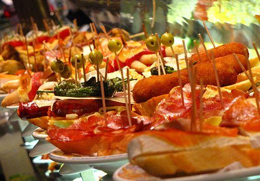 Tapas in Barcelona Spain