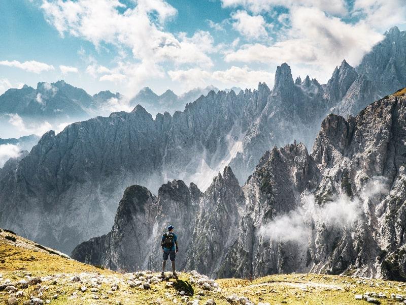 Dolomites Hiking Trails Italy