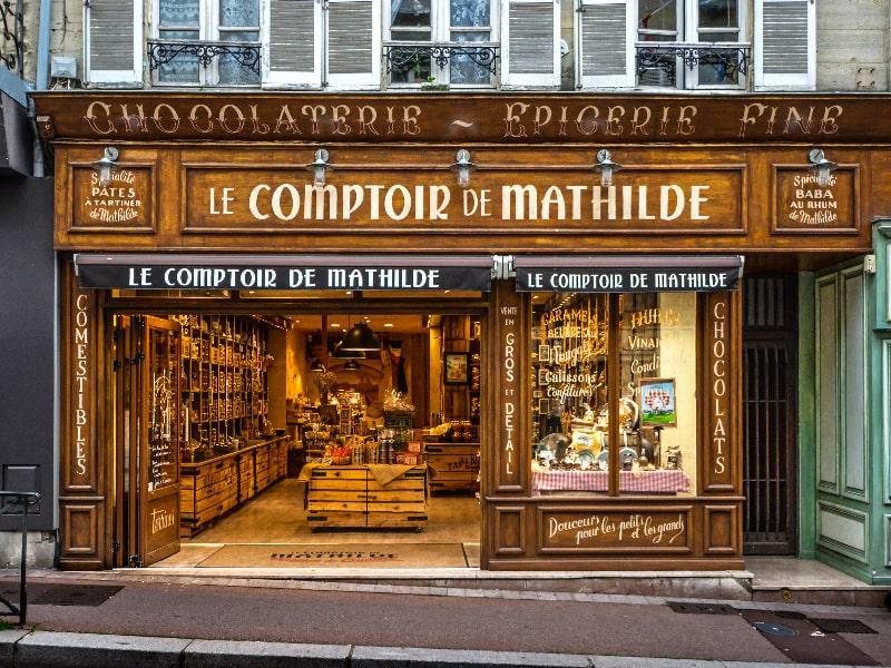 Chocolate Shop France