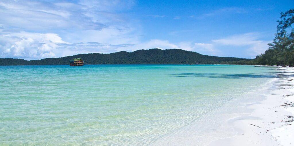 Saracen Bay Beach Cambodia