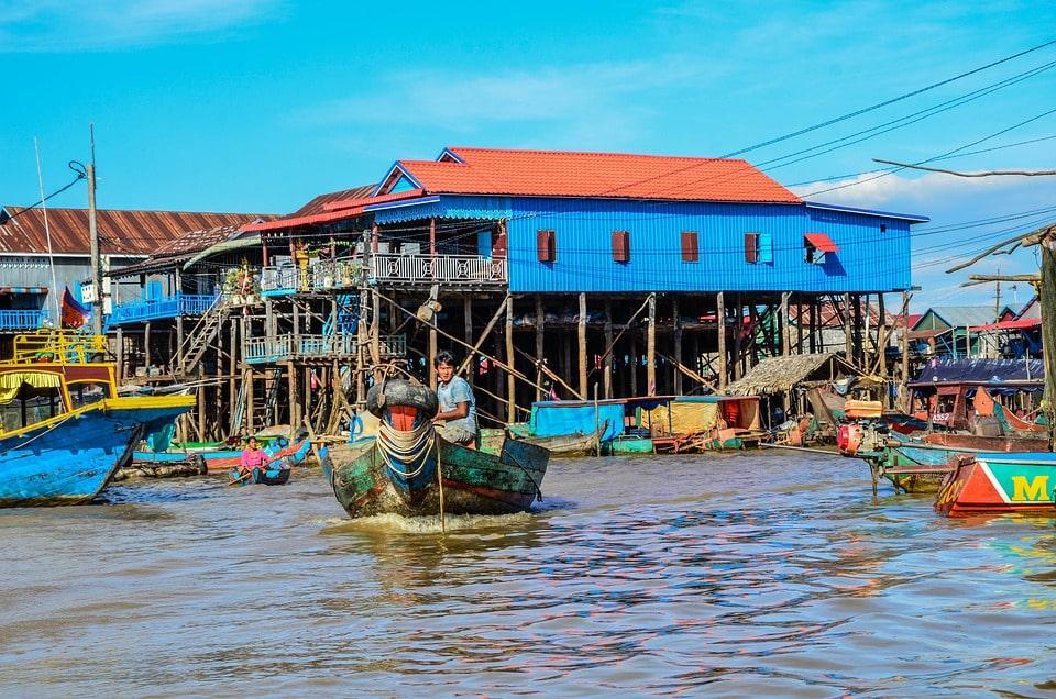 Kampong Phluk Village Cambodia